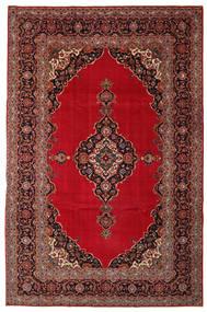 Keshan Patine Sag 240X374 Autentični Orijentalni Ručno Uzlan Tamnocrvena/Tamnosmeđa (Vuna, Perzija/Iran)