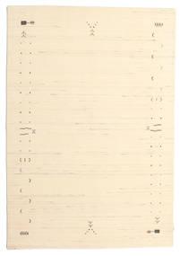 Gabbeh Loom Frame - Prljavo Bijela Sag 160X230 Moderni Bež/Tamna Bež (Vuna, Indija)