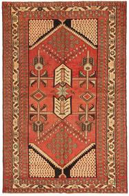 Saveh Patine Sag 135X208 Autentični Orijentalni Ručno Uzlan Grimizno Crvena/Smeđa (Vuna, Perzija/Iran)