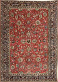 Sarough Patine Sag 236X347 Autentični Orijentalni Ručno Uzlan Tamnocrvena/Tamnosiva (Vuna, Perzija/Iran)