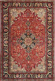 Tabriz Patine Sag 205X305 Autentični Orijentalni Ručno Uzlan Tamnocrvena/Tamnosmeđa (Vuna, Perzija/Iran)