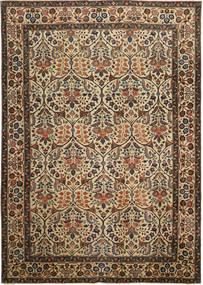 Tabriz Patine Sag 238X338 Autentični Orijentalni Ručno Uzlan Smeđa/Tamnosiva (Vuna, Perzija/Iran)