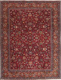 Mashad Patine Sag 240X325 Autentični Orijentalni Ručno Uzlan Tamnocrvena/Tamnosiva (Vuna, Perzija/Iran)