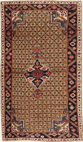 Koliai Patine Sag 100X183 Autentični Orijentalni Ručno Uzlan Tamnosmeđa/Svjetlosmeđa (Vuna, Perzija/Iran)