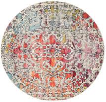Kaleidoscope - Multi Sag Ø 200 Moderni Okrugli Svjetlosiva/Tamnosmeđa ( Turska)