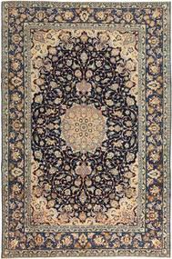 Najafabad Patine Sag 231X353 Autentični Orijentalni Ručno Uzlan Svjetlosiva/Crna (Vuna, Perzija/Iran)