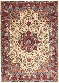 Kashmar Patine Sag 250X340 Autentični Orijentalni Ručno Uzlan Tamnocrvena/Bež Veliki (Vuna, Perzija/Iran)
