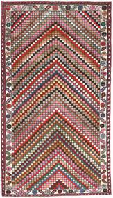 Hamadan Patine Sag 107X200 Autentični Orijentalni Ručno Uzlan Tamnosiva/Tamnocrvena (Vuna, Perzija/Iran)