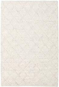 Rut - Ledeno Siva Crna Melange Sag 160X230 Autentični  Moderni Ručno Tkani Svjetlosiva/Bež/Bijela/Krem (Vuna, Indija)