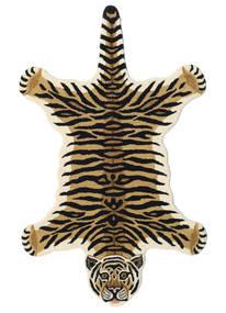 Tiger - Bež Sag 100X160 Moderni Tamnoplava/Bež (Vuna, Indija)