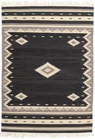 Tribal - Crna Sag 160X230 Autentični  Moderni Ručno Tkani Crna/Bež (Vuna, Indija)