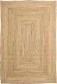 Vanjski Tepih Frida - Prirodni Sag 200X300 Autentični Moderni Ručno Tkani Tamna Bež/Svjetlosmeđa/Bež (Juteni Tepisi Indija)