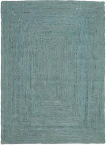 Vanjski Tepih Frida Color - Tirkizna Sag 140X200 Autentični Moderni Ručno Tkani Tirkizno Plava/Tirkizno Plava (Juteni Tepisi Indija)