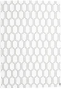 Vanjski Tepih Fortuna - Siva/White Sag 150X210 Moderni Bijela/Krem/Svjetlosiva ( Švedska)