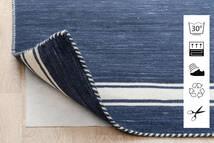 Anti Slip, Non-Woven Sag 160X230 Moderni Plava/Svjetlosiva ( Belgija)