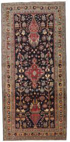 Ardebil Patine Sag 133X284 Autentični Orijentalni Ručno Uzlan Staza Za Hodnik Tamnosmeđa/Tamnocrvena (Vuna, Perzija/Iran)
