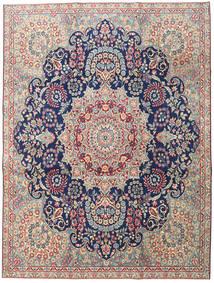 Kerman Patine Sag 230X305 Autentični Orijentalni Ručno Uzlan Svjetlosiva/Tamna Bež (Vuna, Perzija/Iran)