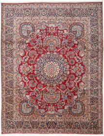 Kerman Sag 303X391 Autentični Orijentalni Ručno Uzlan Tamnosiva/Tamnocrvena Veliki (Vuna, Perzija/Iran)