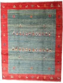 Gabbeh Rustic Sag 263X335 Autentični Moderni Ručno Uzlan Tamnozelena/Svjetlosiva Veliki (Vuna, Perzija/Iran)
