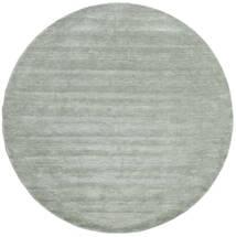 Handloom - Soft_Teal Sag Ø 250 Moderni Okrugli Svjetlozelena/Tirkizno Plava Veliki (Vuna, Indija)