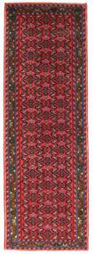 Hosseinabad Sag 71X208 Autentični  Orijentalni Ručno Uzlan Staza Za Hodnik  Grimizno Crvena/Crna (Vuna, Perzija/Iran)
