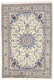 Nain Sag 164X240 Autentični  Orijentalni Ručno Uzlan Svjetlosiva/Bež (Vuna, Perzija/Iran)