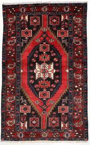 Hamadan Sag 125X203 Autentični Orijentalni Ručno Uzlan Tamnocrvena/Bijela/Krem (Vuna, Perzija/Iran)