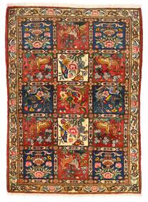 Bakhtiari Collectible Sag 115X155 Autentični  Orijentalni Ručno Uzlan Tamnosmeđa/Grimizno Crvena (Vuna, Perzija/Iran)