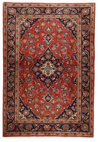 Keshan Sag 100X146 Autentični Orijentalni Ručno Uzlan Tamnosmeđa/Hrđavo Crvena (Vuna, Perzija/Iran)