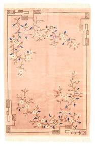 China Antički Finiš Sag 122X183 Autentični  Orijentalni Ručno Uzlan Tamna Bež/Bež (Vuna, Kina)
