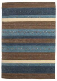 Loribaf Loom Sag 172X244 Autentični Moderni Ručno Uzlan Smeđa/Tamnosiva (Vuna, Indija)