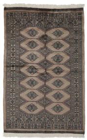 Pakistan Bokhara 3Ply Sag 120X186 Autentični  Orijentalni Ručno Uzlan Tamnosmeđa/Crna (Vuna, Pakistan)