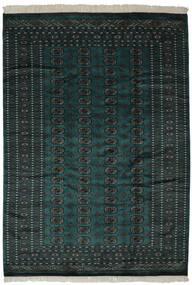 Pakistan Bokhara 2Ply Sag 190X270 Autentični  Orijentalni Ručno Uzlan Crna (Vuna, Pakistan)